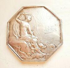 médaille argent CHAMBRE DE COMMERCE DE St NAZAIRE par ROTY