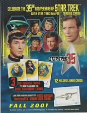 Star Trek Trading Cards Promo Press Sheets: Choose from a wide selection