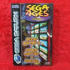 *Sega Saturn SEGA AGES VOL.1 (NI)*x Boxed PAL UK Version Volume One