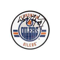 Wayne Gretzky Signed Autographed Acrylic Hockey Puck Edmonton Oilers UDA