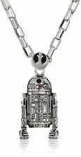 """NEW Licensed Star Wars R2D2 Gift Men's Pendant 30"""" Necklace by Han Cholo R2 D2"""