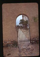 1940 red border kodachrome Photo slide San Xavier mission Tucson AZ trip  #3