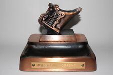 RARE AMSCO Dragline steam shovel Bucket BIG desk Ashtray Promotional With Box