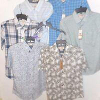 Original Penguin By Munsingwear Casual Shirt Short Sleeve S M L XL NEW