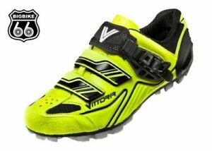 Vittoria FALCON MTB Comp Mountain Bike Cycling Shoes EU 37, BLACK YELLOW FLUO
