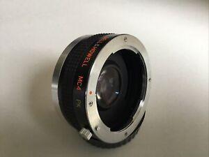 Clean Bell & Howell 2x  Converter for Pentax PK SLR +  AF Digital Manual Focus