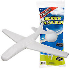 "Foam Glider Plane 22"" Wingspan Hand Launched Easy Set Up Loops Stunts Ships Free"