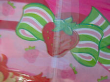 Strawberry Shortcake Best Friends Party Tablecover Tablecloth Pink Plastic
