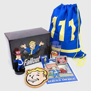 CultureFly NEW Fallout 76 Collector's Box - Box I - Vinyl, Bag, Glass & MoreI