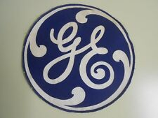 True Scarce Vintage General Electric Cloth Patch 10 ¼ Inches Diameter