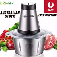 Biolomix meat grinder and food processor, spice grinder, vegetable chopper