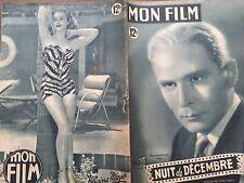 """MON FILM 1949 N 155 """" NUIT DE DECEMBRE""""- avec PIERRE BLANCHARD et RENEE SANT-CYR"""