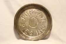 Vintage Antique PURITAN Pies Inc Embossed 15 Hole Tin Pie Plate