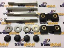Land Rover 90 110 127 130 Bumper Captive Nut & Stainless Steel Bolt Fitting Kit