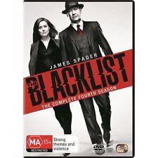 THE BLACKLIST-Season 4-Region 4-New AND Sealed-6 DVD Set-TV Series
