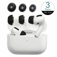 Memory Foam Tips for AirPods Pro Replacement Ear Buds Eartips 3 Pairs S/M/L Size
