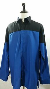 Red Kap Shirt size XL Men's Mopar Technician Express Lane Long Sleeve