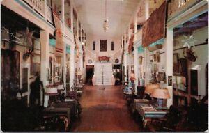 Amador Hotel Las Cruces NM Lobby c1955 Postcard E89