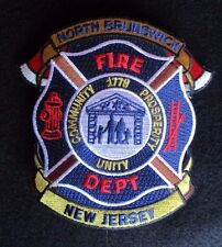 North Brunswick Fire Dept Patch - New Jersey