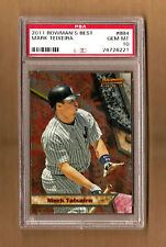 Mark Teixeira New York Yankees 2011 Bowman's Best #BB4 Graded PSA 10 Gem Mint