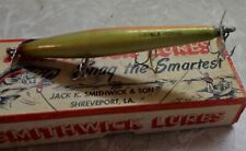 Smithwick Lures Devils Horse signed Wooden lure with original BOX never used