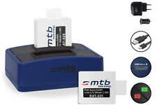 Cargador doble + 2x Baterìa para SJCam SJ4000/SJ5000/ M10/ BOOMYOURS