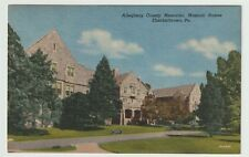 Unused Postcard Allegheny County Memorial Masonic Homes Elizabethtown Pa