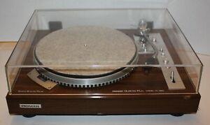PIONEER  PL-550 Vintage Turntable with Ortofon MC 20 Cartridge