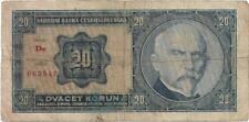 More details for czechoslovakia 20 koruna 1926 good condition