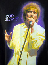 Rod Stewart Tee Shirt Concert A Night to Remember Lrg Black Tour Cities Photo