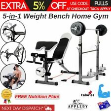 Weight Set Combination Strength Training Benches