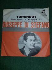 """GIUSEPPE DI STEFANO - TURANDOT Nessun dorma  45  7"""" Columbia Scbq 3028"""
