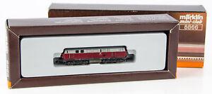 Vintage Marklin Mini-Club 8866 German Z Scale Diesel Locomotive DB V 160 003