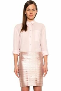 NEW ROSEANNA Artiste Charly Pink Skirt Size M