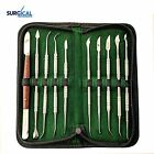 Stainless Steel Wax Carving Tool Set Sculpting Tool Set Dental Instrument Kit