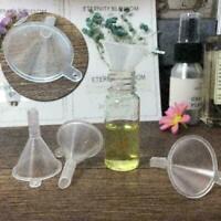 15 STÜCKE Kunststoff Kleine Für Parfüm Diffusor Flasche Mini Flüssiges Öl T C8Z6