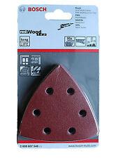 Bosch Schleifzubehör Schleifpapier Set 10 Stück Red Wood T 2608607540