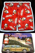 National Lampoons Christmas Vacation Mens Crazy About Xmas Boxer Shorts Size S
