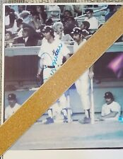 BOBBY MURCER AND THURMAN MUNSON - NEW COPY OF AUTOGRAPHED PHOTO