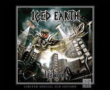 Dystopia+ 5 bonus tracks [Limited MFTM 2013 Edition] ICED EARTH 2 cd set
