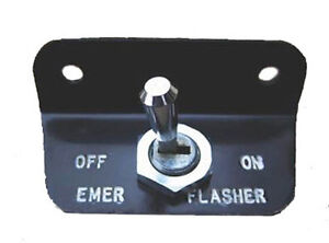 NEW! 1966 Ford Mustang EMERGENCY FLASHER SWITCH with Bracket and Switch