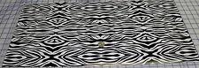 "Zebra Print Small pattern Vinyl 12"" X 24"" sheet for craft cutters"