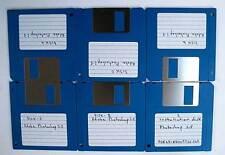 Adobe Photoshop 2.5 DISCHI FLOPPY DISK DISCHETTI vintage