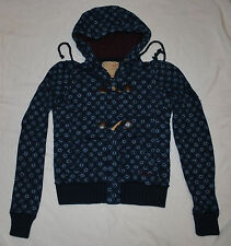 Junior's Girl's Billabong Zippered Hooded Sweatshirt/Jacket (S)