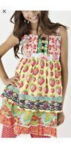 Matilda Jane Dress nWt Size 6 Good Hart Strawberry Knot Dress