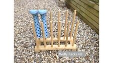 Welly Rack,Wellie Storage,Wooden Wellington Boot Stand, Walking boot, 6 pairs