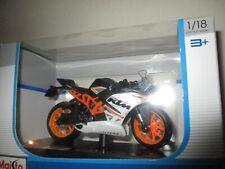 Motorrad Miniatur KTM RC 390 1/18 Maisto