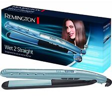 REMINGTON S7300 Donne Wet 2 Straight veloce PIASTRA PER CAPELLI PIASTRE IN CERAMICA WET&DRY