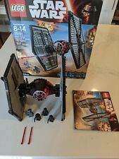 Lego Star Wars First Order Special Forces TIE Fighter (75101) 100% Complete