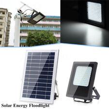 120 LED Solar Powered luz de inundación sensor de jardín al aire libre de seguri